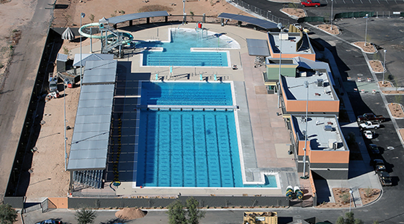 Skyline Aquatics Center Hosted The Top Names In Swimming