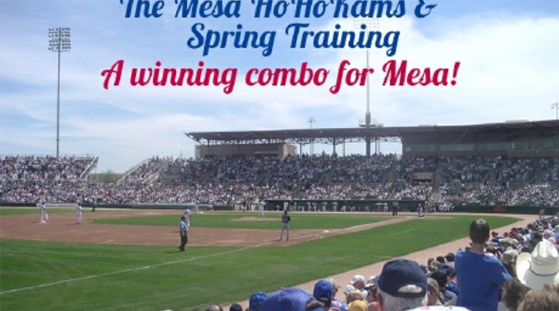 The Mesa HoHoKams and Spring Training – A Winning Combo for Mesa!