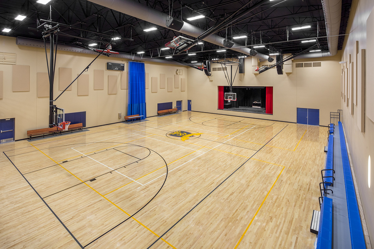 St. John Vienny-New Gym and Stage
