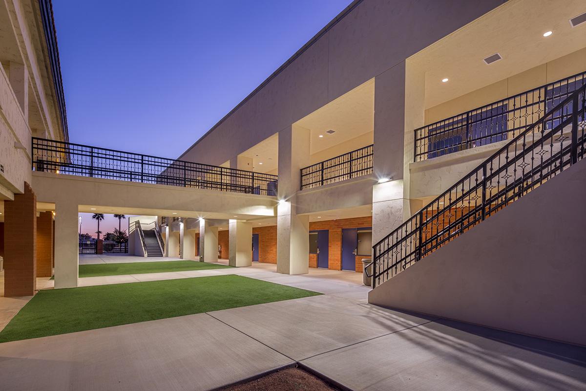 St. John Vienny-New Courtyard 1