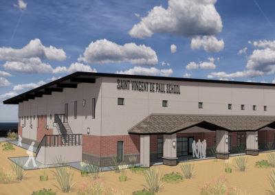 St. Vincent de Paul – New Gym & Classrooms Building