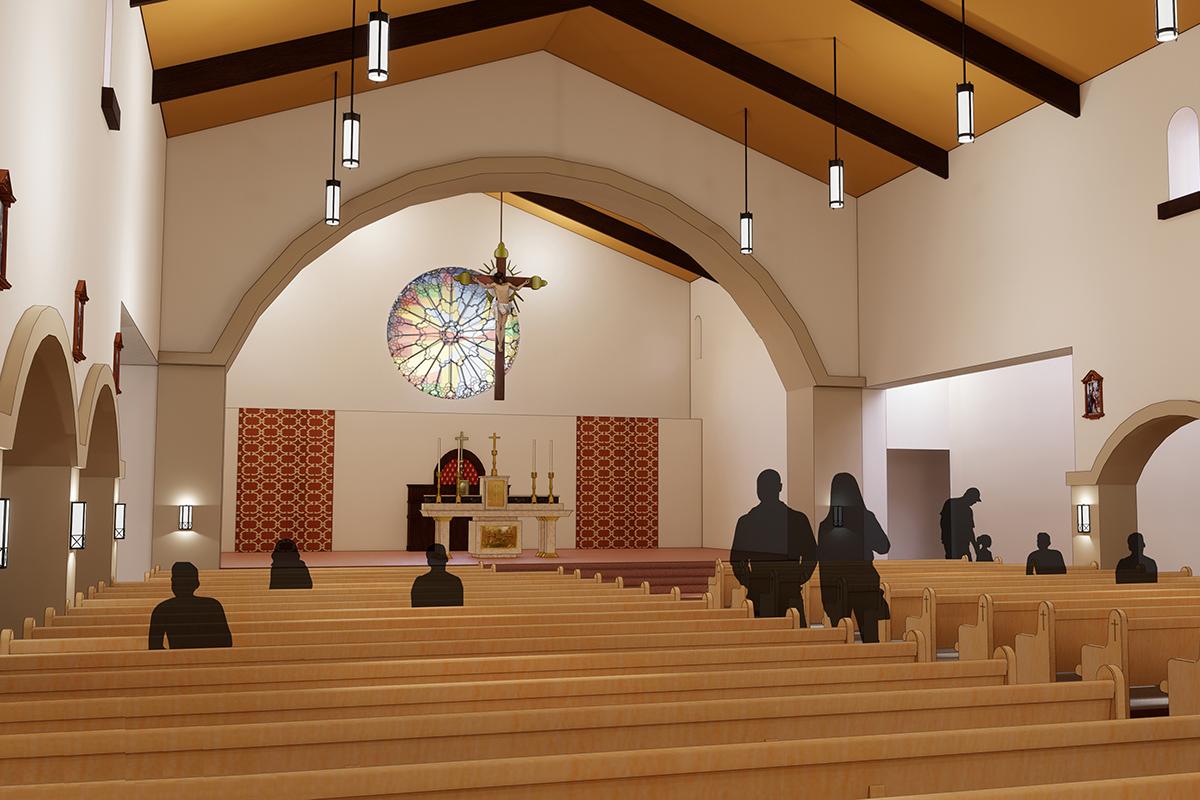 06 interior shot facing sanctuary 2 st joseph V2