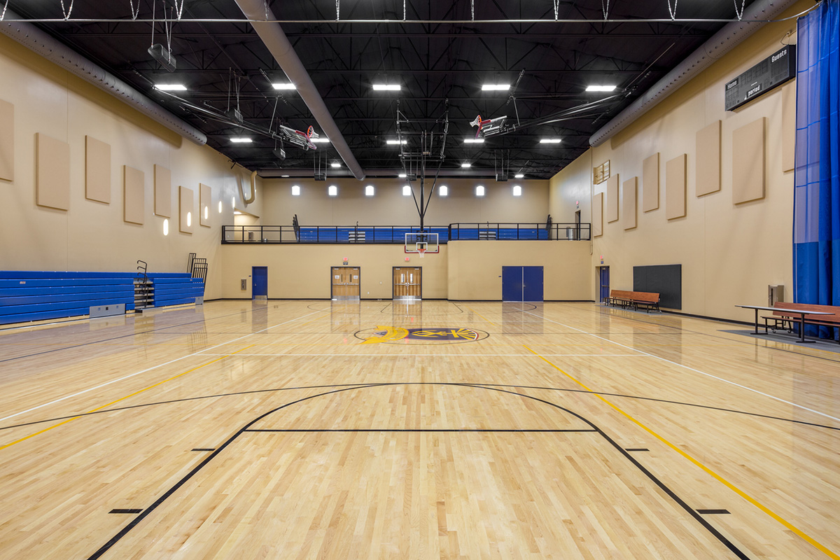 St. John Vienny-Mezzanine at New Gym