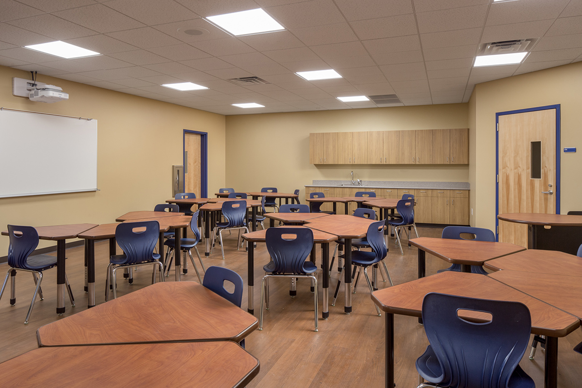 St. John Vienny-Typical New Classroom