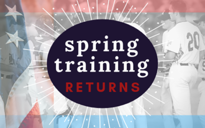 Adaptive's Feb 2019 Newsletter: Spring Training Returns (and Mesa's Link to the Cactus League)