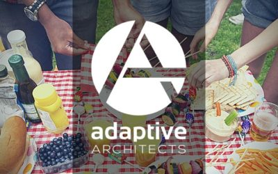 Adaptive Architect's July 2019 Newsletter:  Summer, Amazing Food & Great Patios